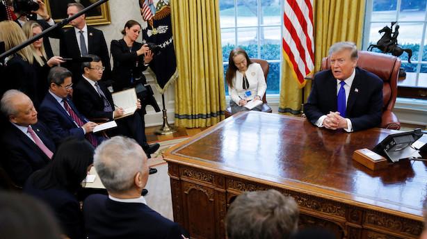 USA og Kina enige om valutaaftale