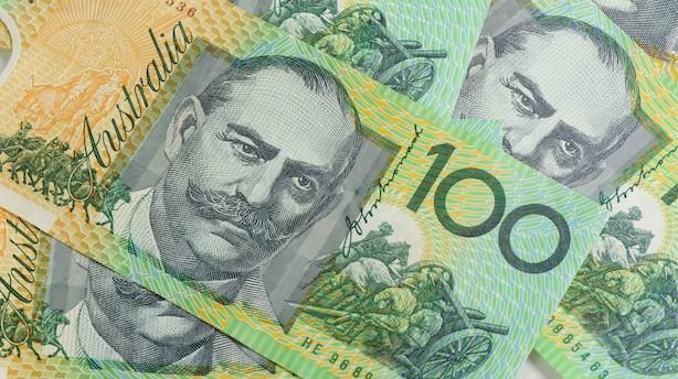 Valuta: Australsk dollar i største styrkelse i år efter chokvalg