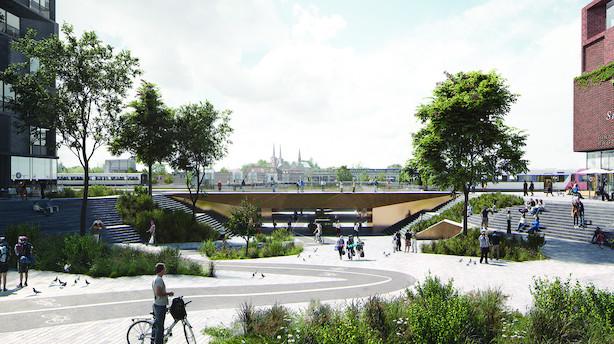 Roskilde Kommune vil tage milliardprojekt ud af hænderne på developer