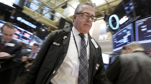 Aktier: Kina sender amerikanske aktier på ny nedtur