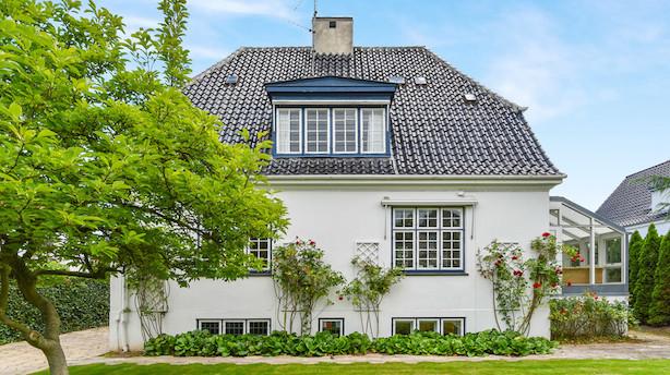 Skuespiller-par må sænke pris på Frederiksberg-villa