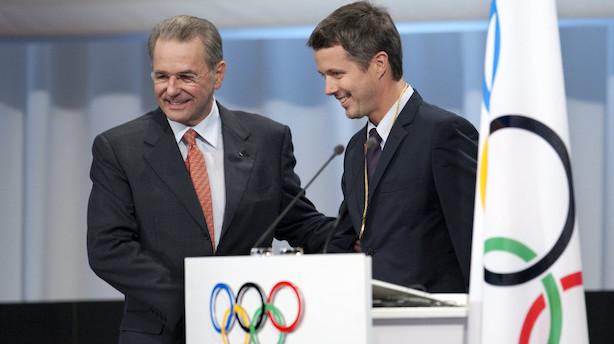 Kronprins Frederik genopstiller til IOC