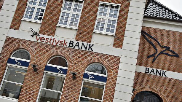 Økonom om Vestjysk Bank: Aktien bør teoretisk set falde endnu mere