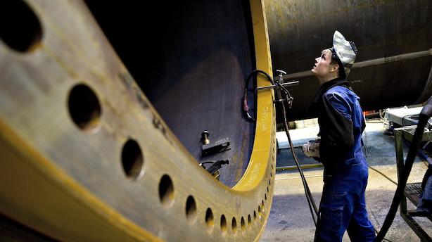 Metalarbejderne løber hurtigt og det lover godt for den økonomiske vækst