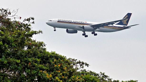 Singapore Airlines genåbner verdens længste flyrute