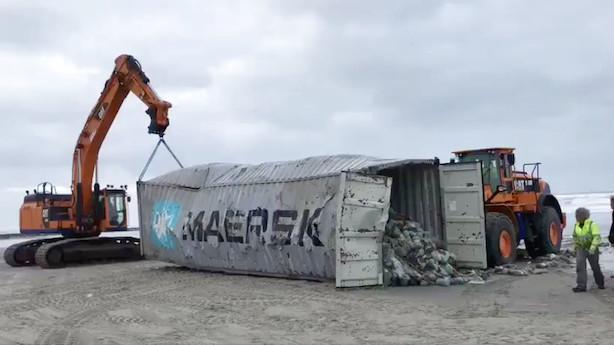 Mærsk og Rockwool går til bunds i rødt marked ved fondsbørsens åbning