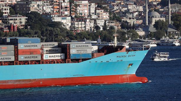 Markedet lukker: Handelsspændinger blussede op - FLSmidth og Mærsk dykkede