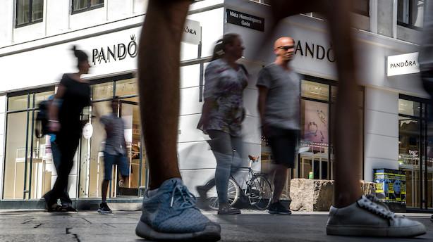 Pandora-aktie i stort kurshop efter regnskab