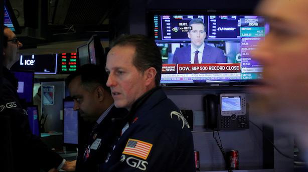 Aktietendens i USA: McDermott i dundrende rødt forud for sur markedsåbning
