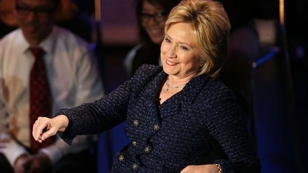 Hillary Clinton foreslår skattestigning til USAs rigeste