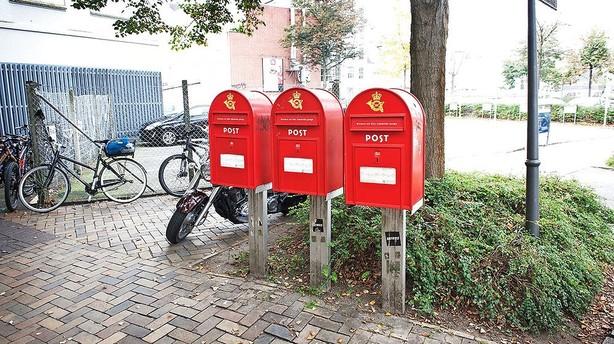 F�rre breve giver stort milliontab i Post Danmark