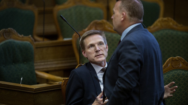 Thulesen: Hjørnekontoret er vigtigere for Løkke end for mig