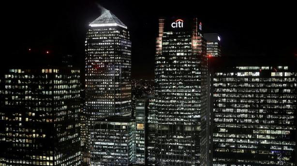 USA: Bankregnskaber bukkede under for de høje forventninger