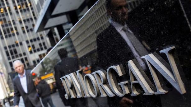 JPMorgan leverer større indtægter og hensætter mindre end ventet