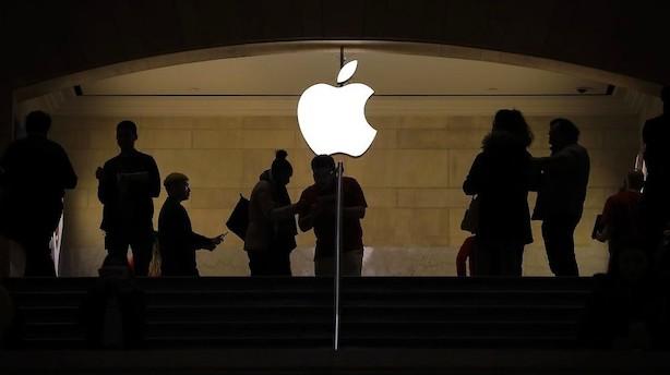 Torsdag blev værste børsdag for Apple i syv år