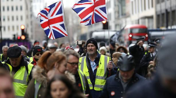 Fem uger til brexit: UK har kun 6 af 40 handelsaftaler klar