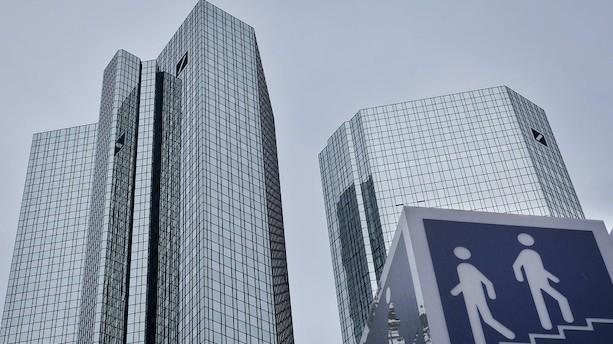 Potentiel fusion mellem Deutsche Bank og Commerzbank rammer mur