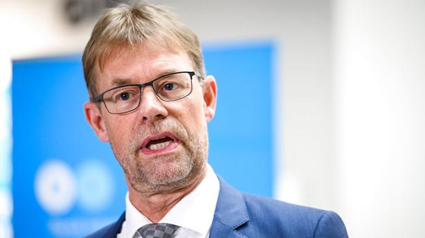 """DI's formand roser Løkkes melding om en mulig SV-regering: """"Det kan give mere stabilitet"""""""