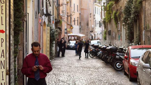 Et møde med Roms charmerende bohemekvarter