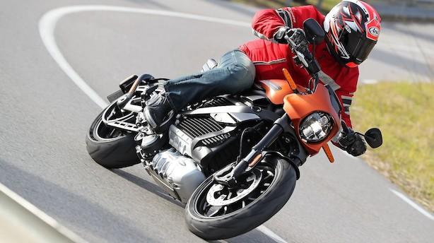 Test: Harley-Davidson med elmotor er svimlende hurtig - men lyden kan vi ikke lide