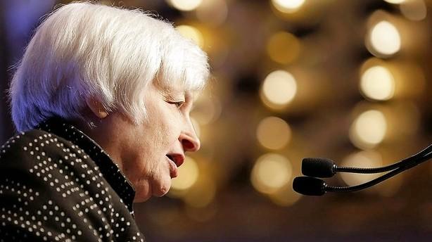 Økonomer: Yellen sætter pausefisk på skærmen