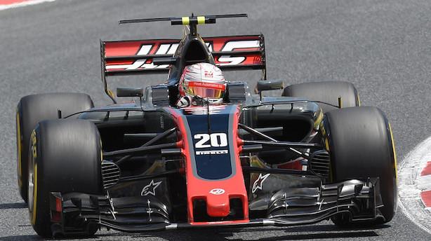 Magnussen slår Grosjean i første Monaco-træning