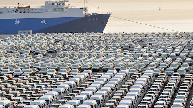 Kinesisk eksportvækst vendte tilbage i april