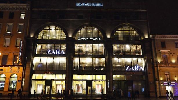 Zara-ejer tjener mere end ventet trods skuffende salg