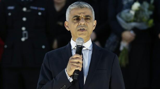Londons borgmester kalder Trumps beskyldninger for uhyrlige