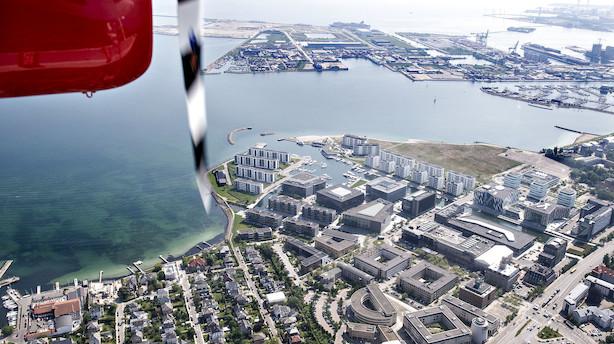 Vandflyveren mellem København og Aarhus er truet