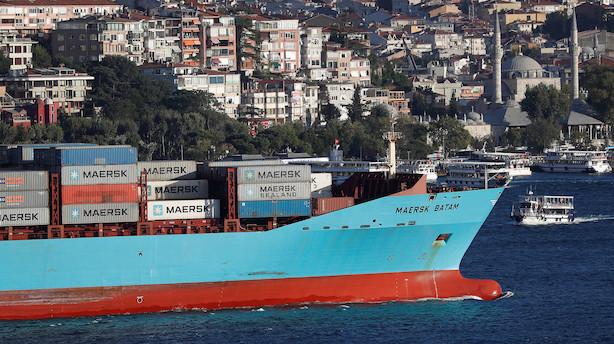 UBS om presset Mærsk: Efterspørgslen i 2019 er den store bekymring