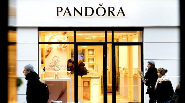Aktier: Pandora hamrede i vejret med 17 pct - og C25 jublede med på sidelinjen