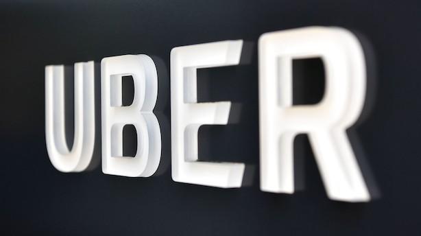 """Uber søger om optagelse på børsen i New York: Ingen planer om  udbytte inden for """"en overskuelig fremtid"""""""