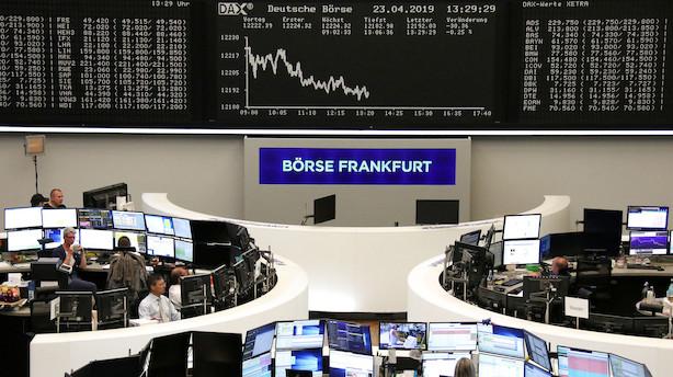 Strateg: Ser amerikanske aktier give europæiske baghjul