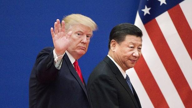 Morgenbriefing: Ny optrapning af handelskrig giver store aktiedyk