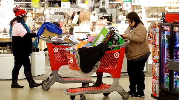 Aktieåbning i USA: Tæv til Target i mikset marked