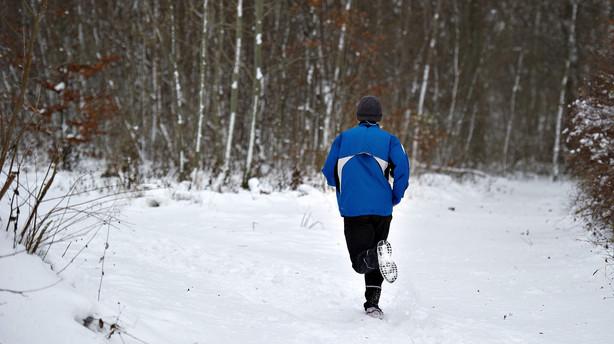 Snevejret sætter i weekenden punktum for sibirisk kulde