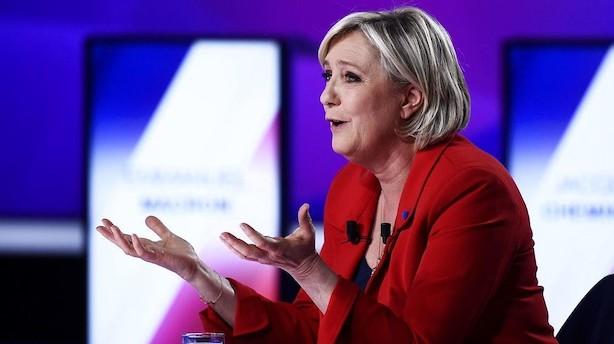 Valuta: Investorerne venter på weekendens franske valggyser