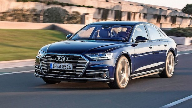 Audi A8: Fodmassage er ekstraudstyr