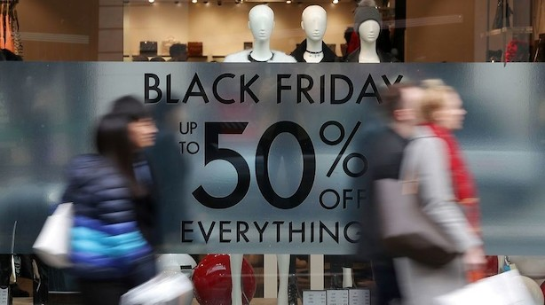 Time for time: Så mange betalinger er registreret på Black Friday