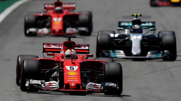 Lars Seier jagter større budget til Formel 1-projekt