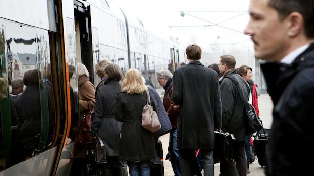 DSB giver millioner i kompensation til pendlere på Sjælland