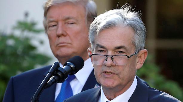 Aktier: Wall Street gik i minus - centralbank fastholdt renten