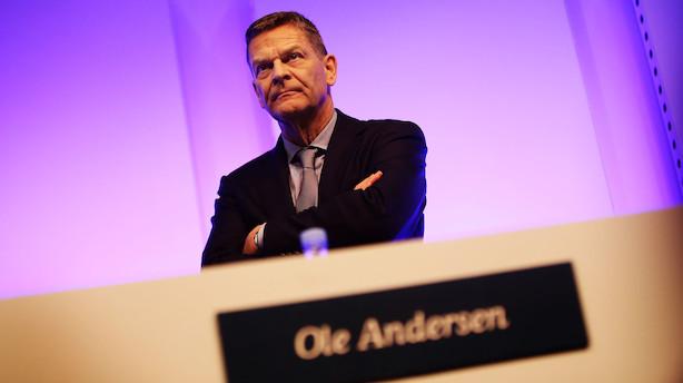 """Liveblog: Ole Andersen på talerstolen: """"Lad os bare kalde det en fyring"""""""