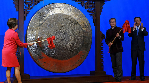 Aktier: Kinesiske investorer tilbage - Japans ditto holder fri