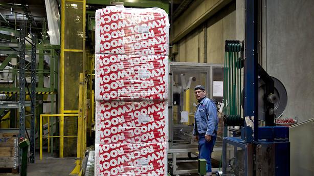 Markedet lukker: Rockwool til vejrs efter positivt regnskab