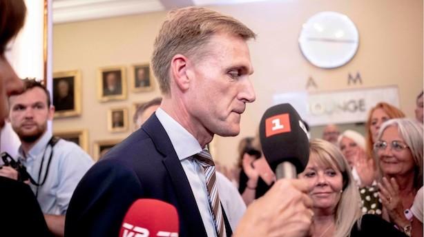 Thulesen Dahl om Løkkes forsøg på en midterregering: