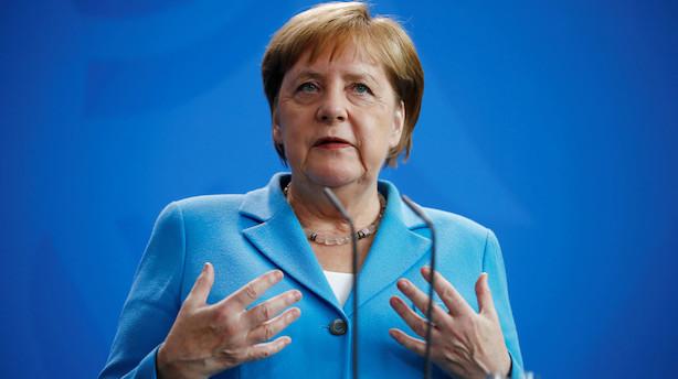 Tyskere om Merkels rysteture: Det er en personlig sag