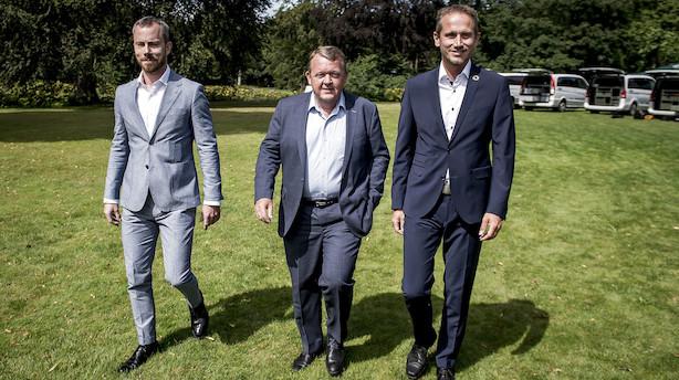 """Løkke vil have hurtigt landsmøde for at få afklaring på Venstres ledelse: """"Jeg ønsker at fortsætte som formand"""""""