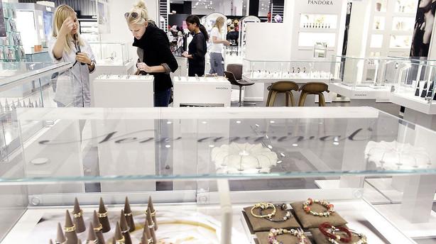 Pandora vil åbne 200-300 konceptbutikker årligt frem til 2018